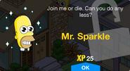 Mr. Sparkle Unlock Screen