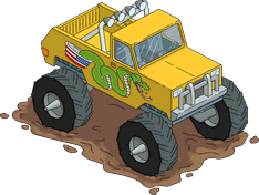 Cletus' Monster Truck