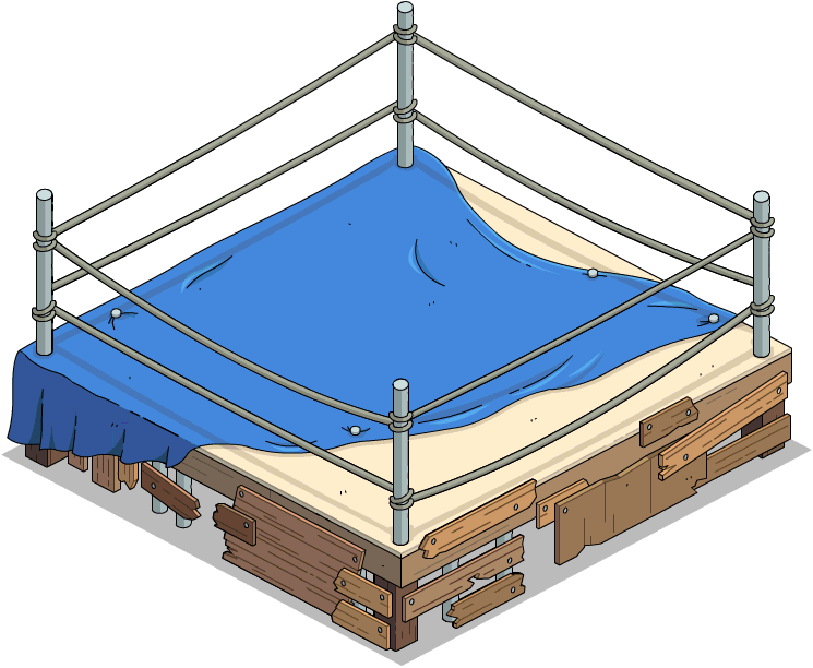 Backyard Wrestling Ring