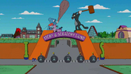 Itchy & Scratchy Land Gate in the show