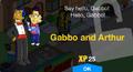 Gabbo & Arthur Unlock Screen