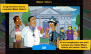 Black History 2020 Event End Screen