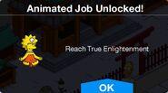 Reach True Enlightenment Animated Job Unlocked