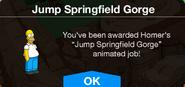 Jump Springfield Gorge Unlock