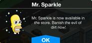 Mr. Sparkle Notification 1