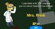 Mrs. Frink Unlock Screen