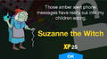 Suzanne the Witch Unlock Screen