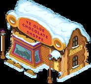 Chocolate Shoppe Flipped Snow Menu
