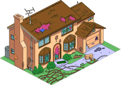 Damaged Simpson House The Simpsons Tapped Out Wiki Fandom