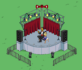 Gabbo and Arthur's Open Air Stage Performance