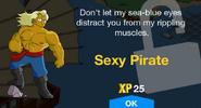 Sexy Pirate Unlock Screen