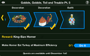 Gobble, Gobble, Toil and Trouble Pt. 5