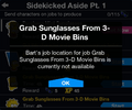Grab Sunglasses From 3-D Movie Bins job not available