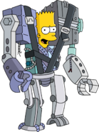 Cyborg Bart Unlock