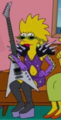 Rockstar Maggie in the show