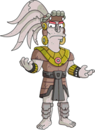 Unlock Mayan God