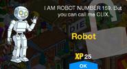 Robot Unlock Screen