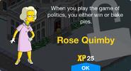 Rose Quimby Unlock Screen