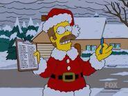 Santa Flanders in 'tis the fifteenth season'