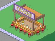 Baby Moe Working the Lemonade Counter