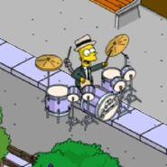 Tic Tock Simpson Doing Some Bionic Drumming (2)