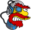 Cyborg Willie Annoyed Icon