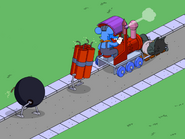 Parade Train with Dynamite Bundle and Bomb2