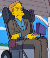 Stephen Hawking in the show