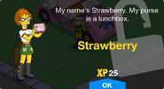 Strawberry Unlock Screen