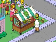 Ted Flanders Selling Herbal Spinach