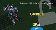 Cleatus Unlock Screen