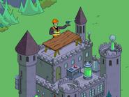 Frankenstein's Monster Using Power Tools