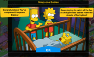 Simpsons Babies Event Completion