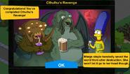 Cthulhu's Revenge 2019 Event End Screen