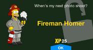 Fireman Homer unlock screen