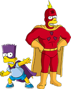 Bartman vs Radioactive Man