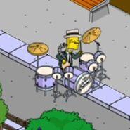 Tic Tock Simpson Doing Some Bionic Drumming (3)