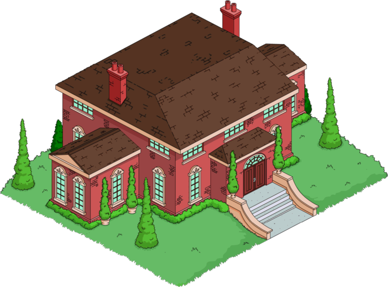 Wolfcastle's Mansion