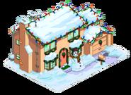 Christmassimpsonhouse