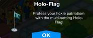 Holo-Flag Promo