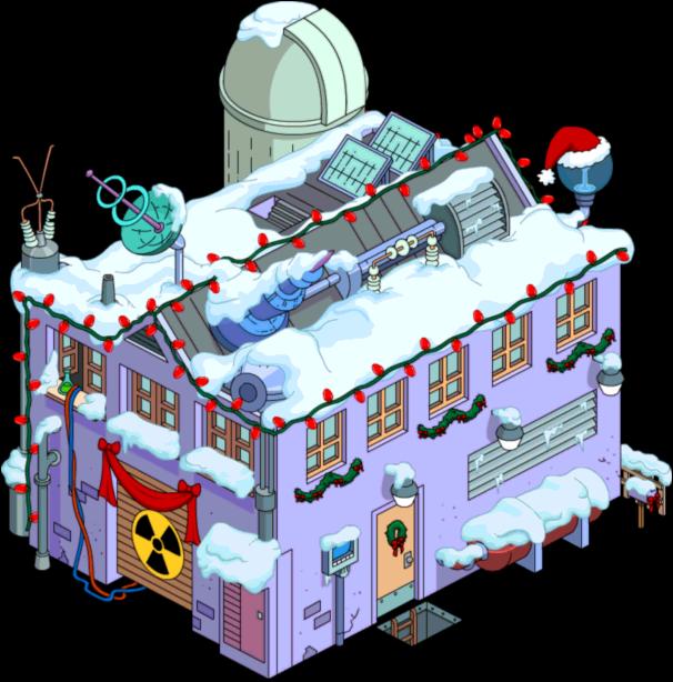 Christmas Frink's Lab
