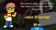 Jake Boyman Unlock Screen