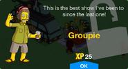 Groupie Unlock Screen