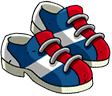 Pairs of Bowling Shoes Icon