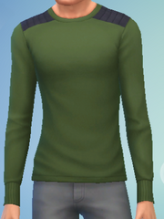 YmTop SweaterCrewBasic GreenArmy.png