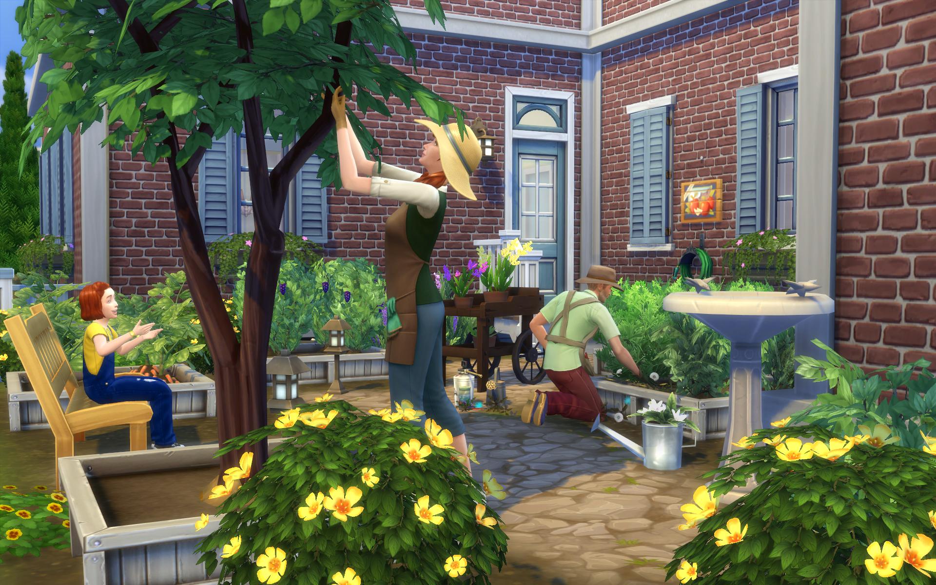 Садоводство (The Sims 4)