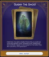 Haunted House Guidry Card