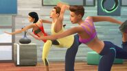 TS4 GP02 yoga pose