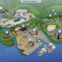 Evergreen Harbor The Sims Wiki Fandom