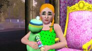 Anastasia Lyngstad and Ladah's favourite doll